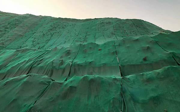 煤场防尘网案例